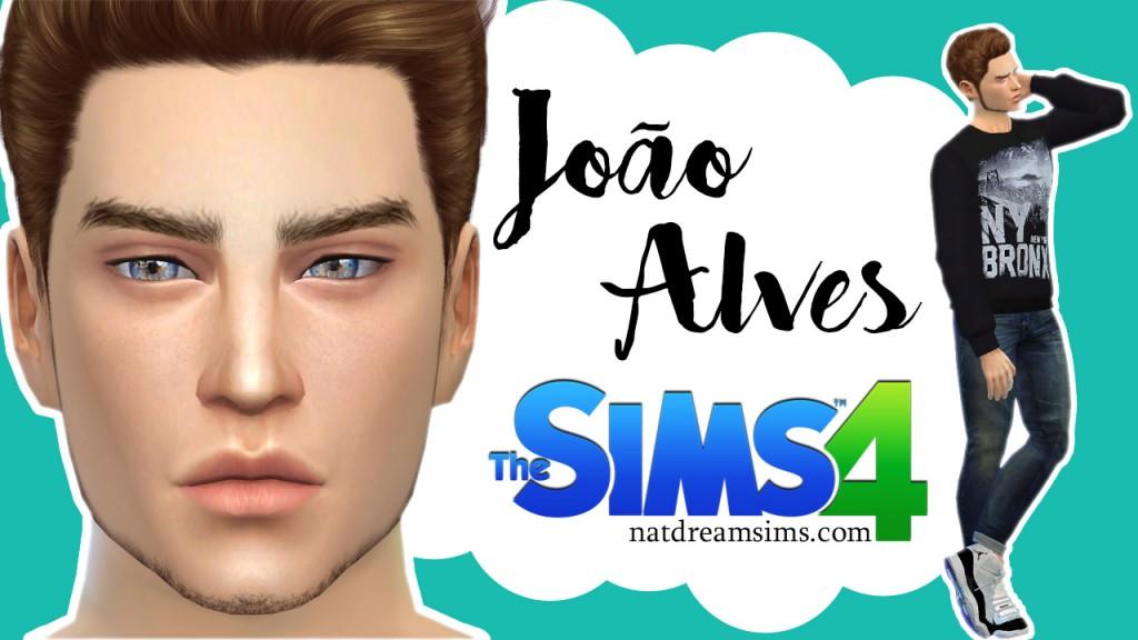 Jo o alves the sims 4 nat dream sims for Sala de estar sims 4