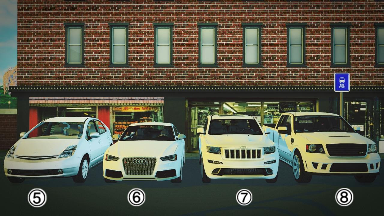 Vehicles Car Game