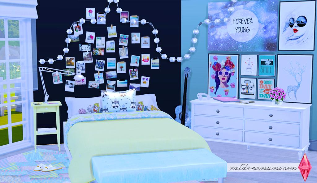 decoração de quarto Nat Dream Sims ~ Quarto Personalizado Tumblr
