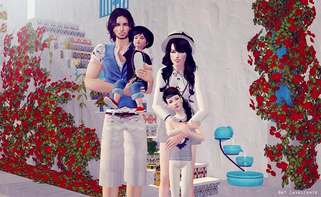 NatCavalcante-família