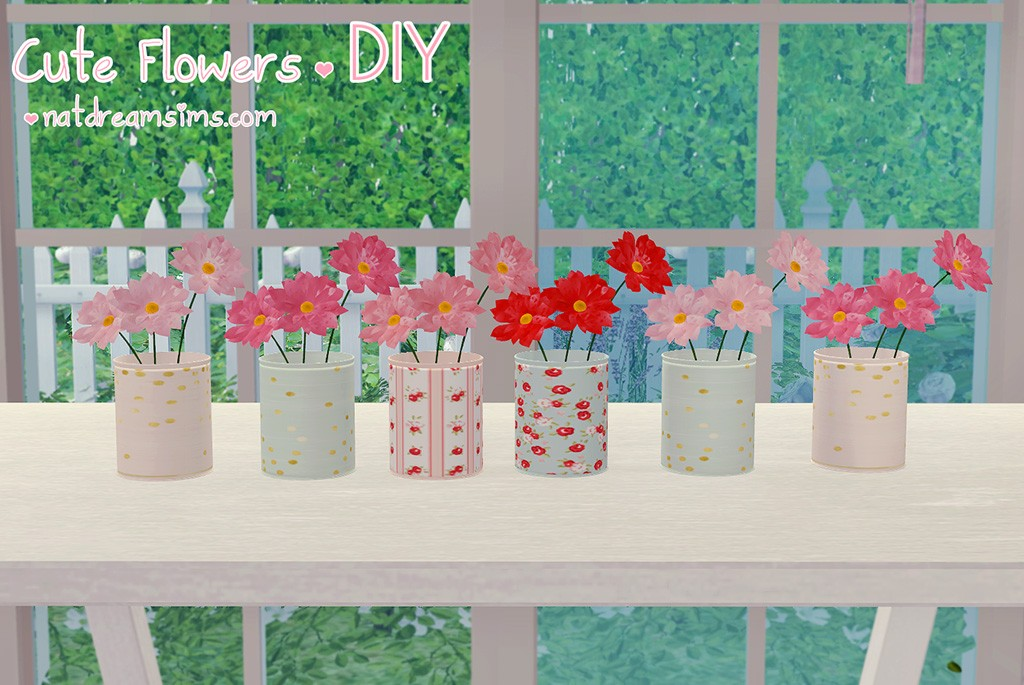 Cute flowers DIY