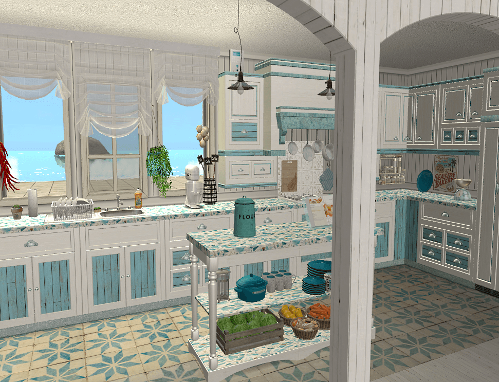 a preview of the kitchen