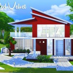 Little Red Velvet – The Sims 4 (NO CC)