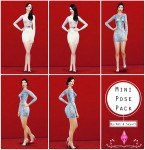 Mini Pose Pack (byNat&Say) – The Sims 4