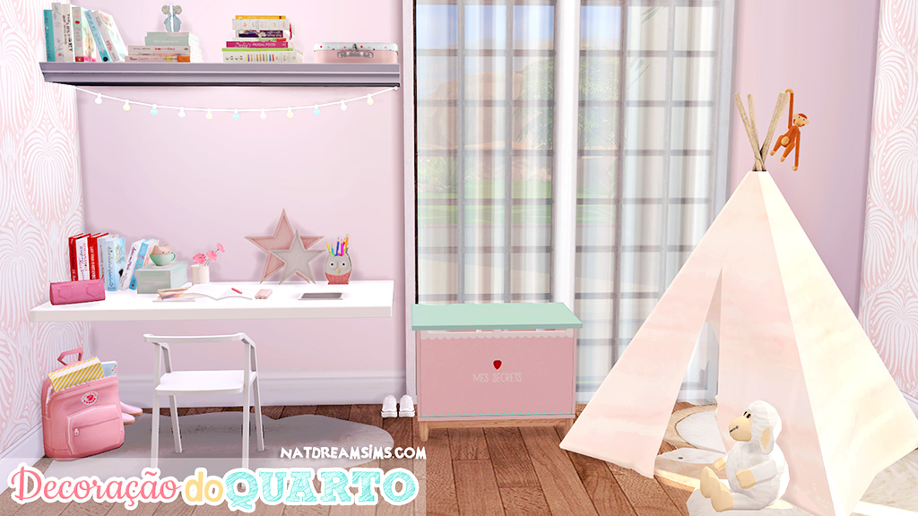 Child Room The Sims 4 Nat Dream Sims