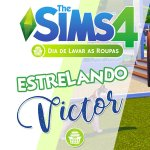 Vlog: DIA DE LAVAR AS ROUPAS | The Sims 4 + Review