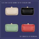 Indicação de Objetos decorativos para o Closet – The Sims 2