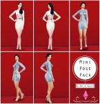 Mini Pose Pack (byNat&Say) – The Sims 4